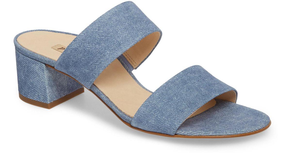 eb562228de099 Lyst - Paul Green Meg Slide Sandal (women) in Blue