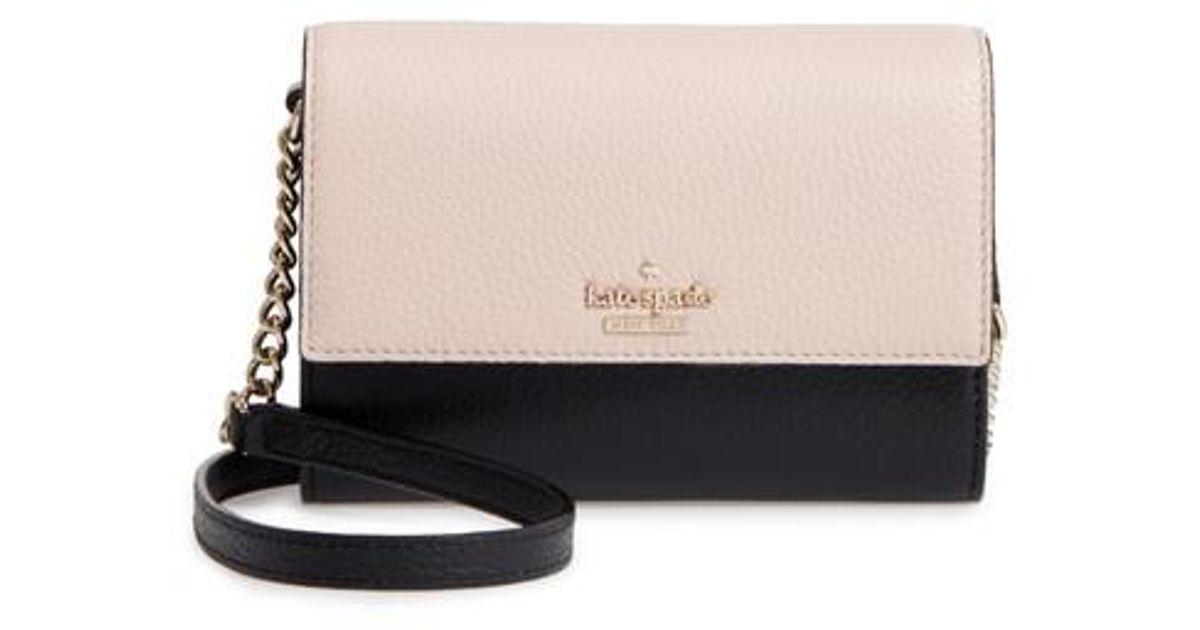 cdbbddf9238a Lyst - Kate Spade Jackson Street - Iva Leather Crossbody Bag