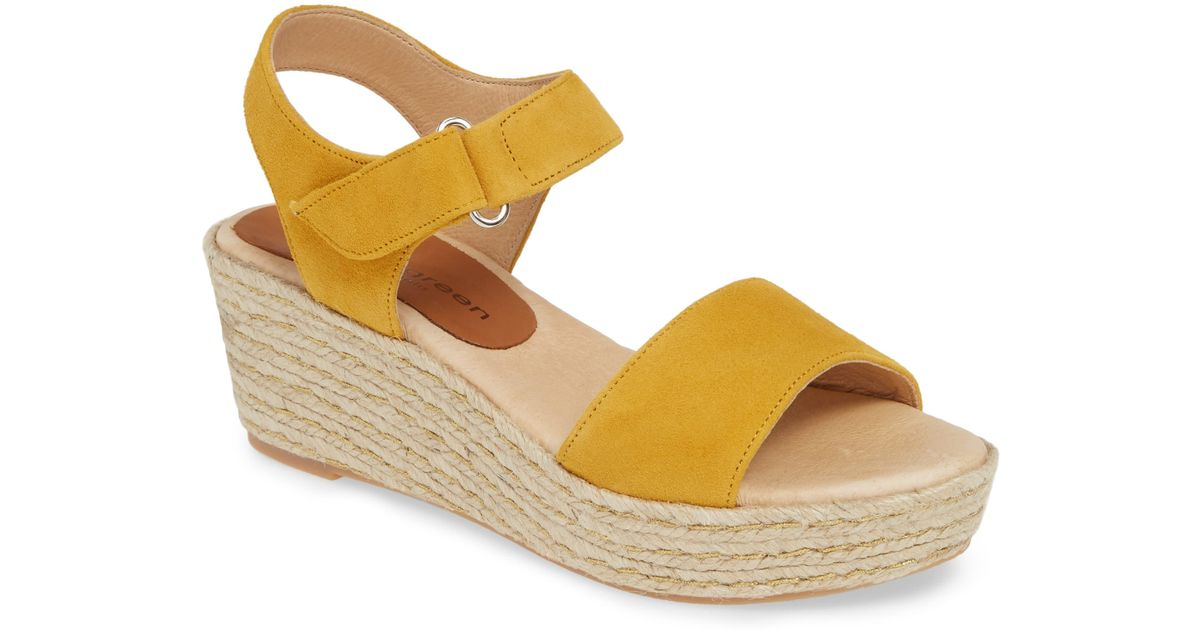 f31fd7bcd05 Patricia Green - Blue Corie Espadrille Wedge Sandal - Lyst