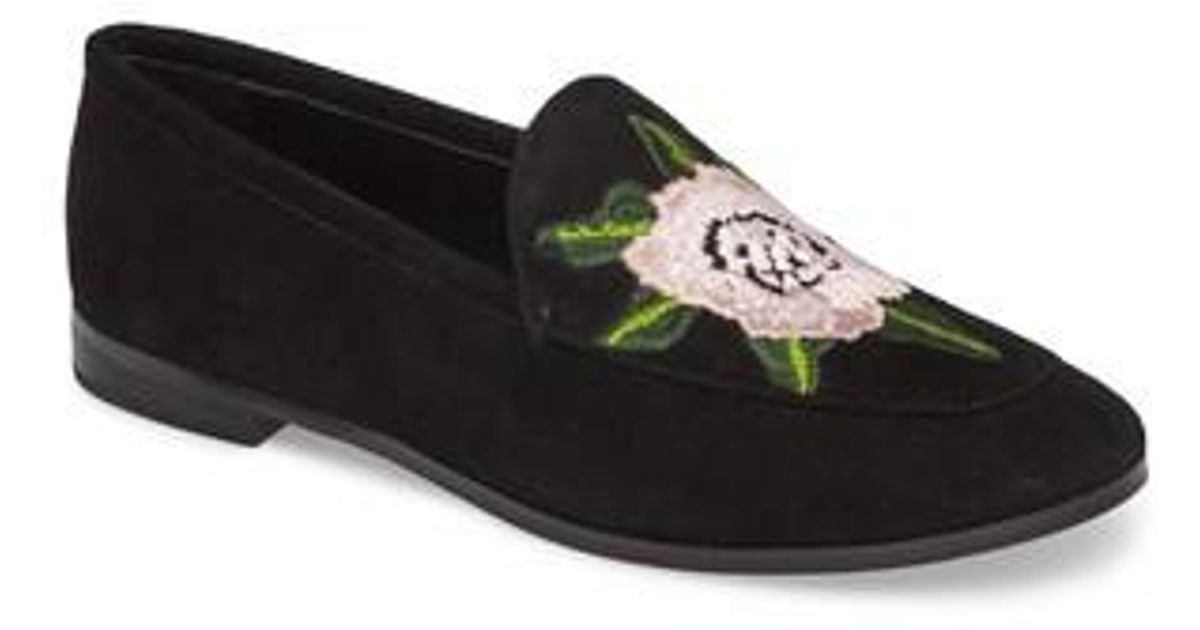 Rebecca Minkoff Floral-Embroidered Round-Toe Loafers outlet shop for MpoGw2