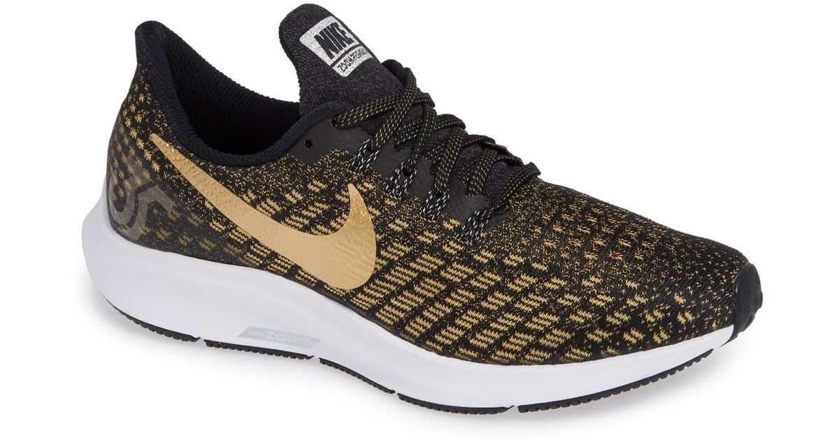 d7f15fccee7d Lyst - Nike Air Zoom Pegasus 35 Running Shoes in Black - Save 28%