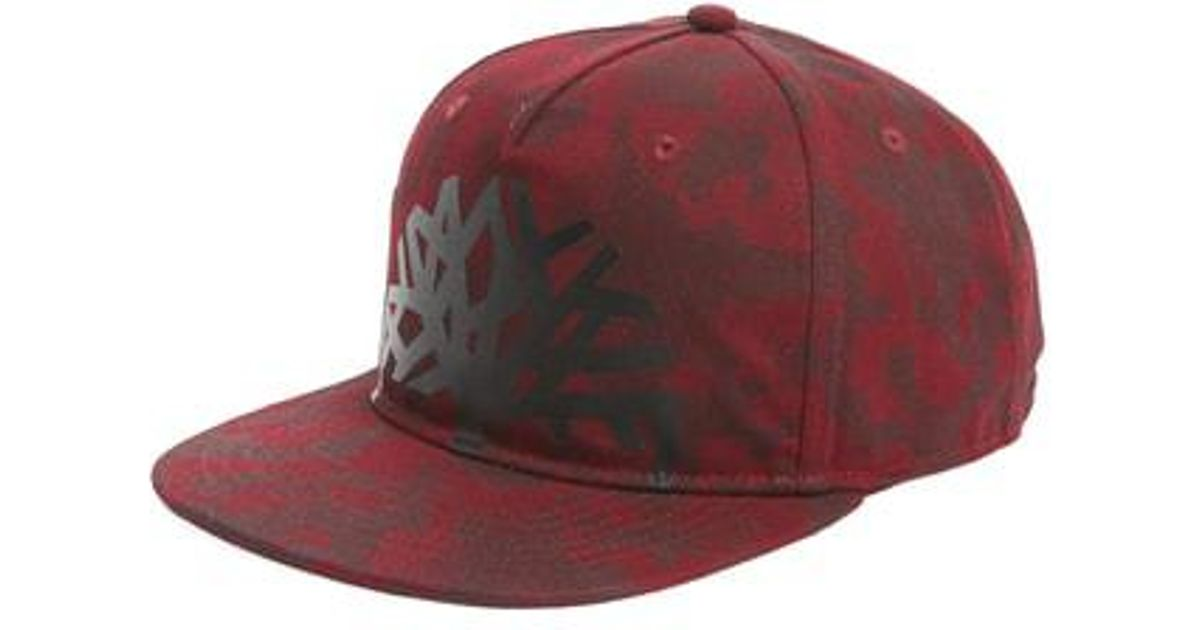 db6f2d77490bf Lyst - Timberland Castle Hill Baseball Cap in Red for Men