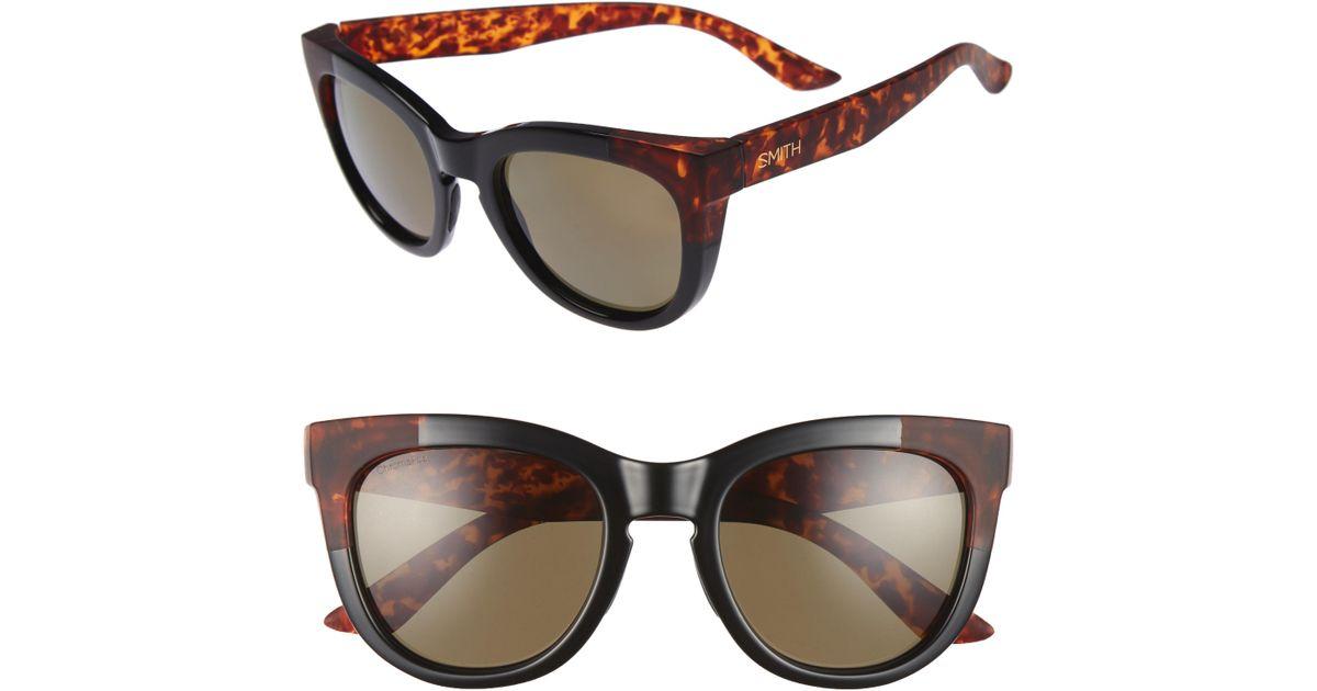 8ca8da0f9f Lyst - Smith  sidney  55mm Polarized Sunglasses in Black