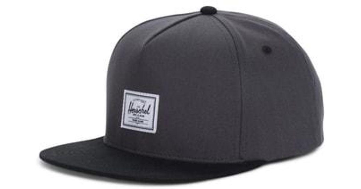 Lyst - Herschel Supply Co. Dean Multicolor Baseball Cap in Black for Men da777cc70497