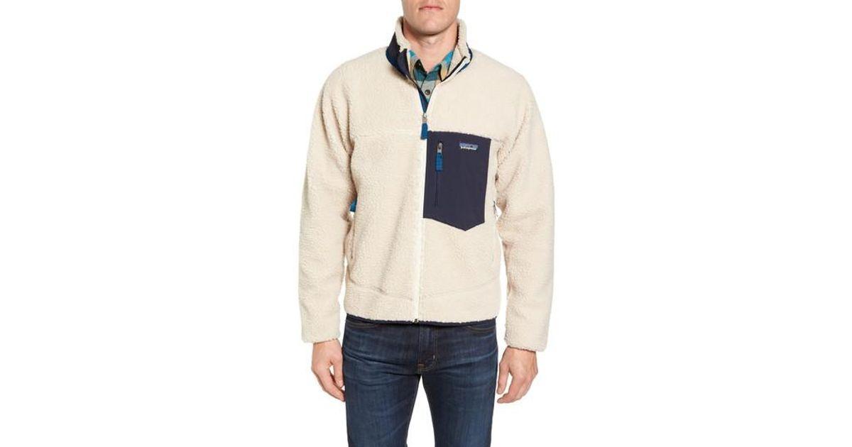 132a0fc2e Patagonia Natural Retro-x Fleece Jacket for men