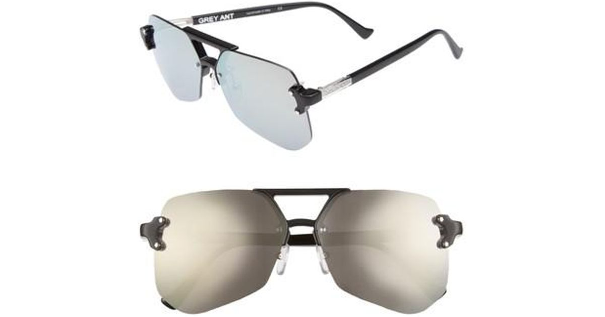 11c71d6584 Lyst - Grey Ant Yesway 60mm Sunglasses in Metallic