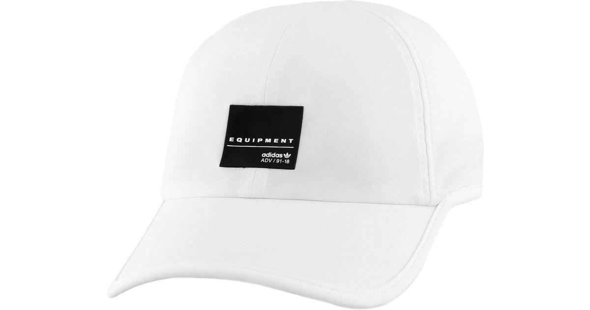 0f6c90527c3 Lyst - adidas Originals Eqt Trainer Cap in White for Men