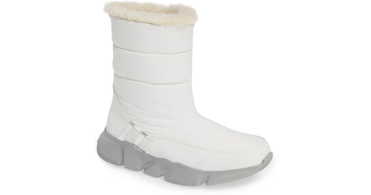 f2aee4675635f Steve Madden White Snowday Fashion Boot