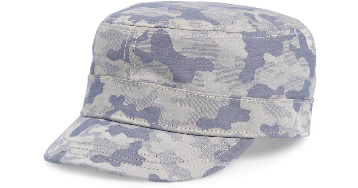249e0f789f730 Lyst - Goorin Bros Camo Cap - in Gray for Men