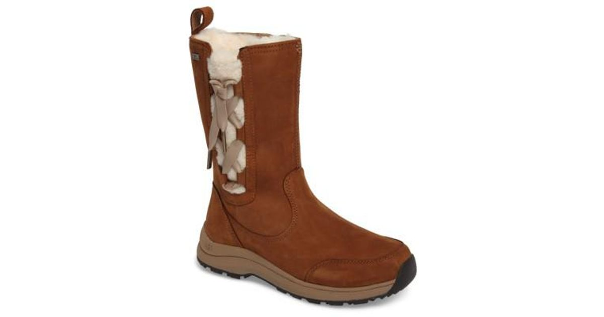 a7e5a449b8a Ugg Brown Ugg Suvi Waterproof Insulated Winter Boot