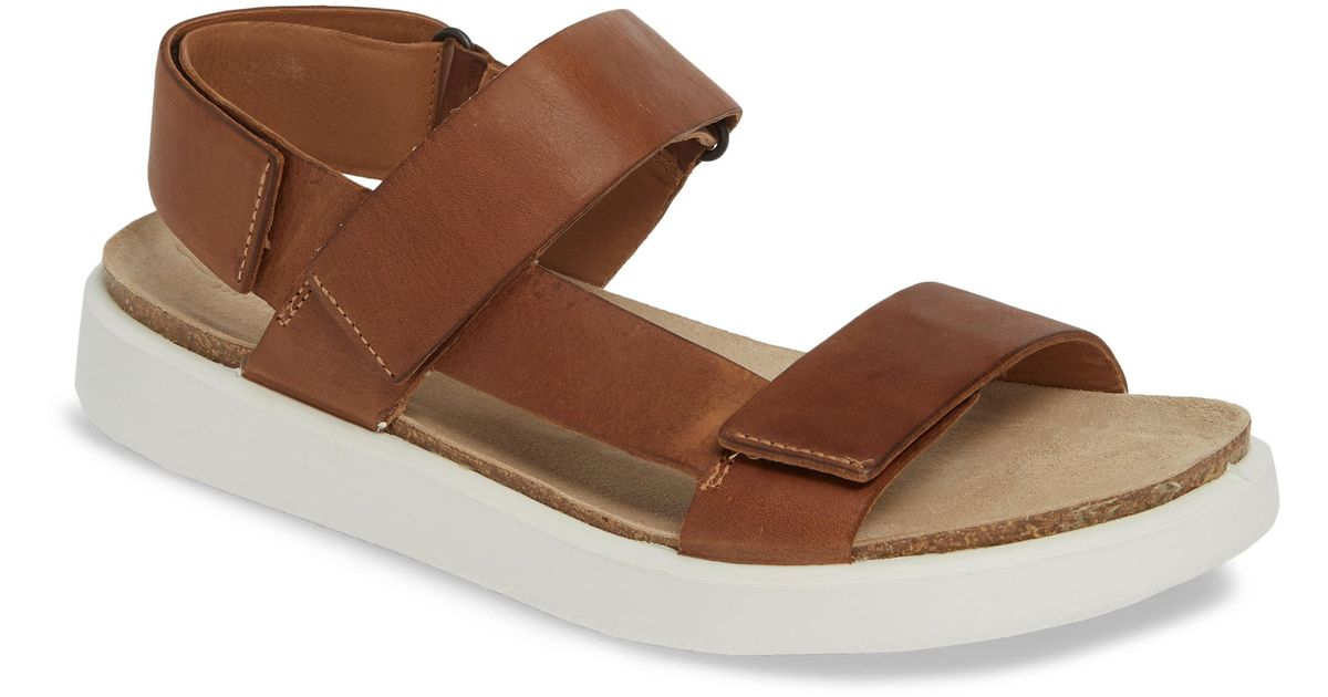 Sandal For Ecco Brown Corksphere Men WHID29eEbY