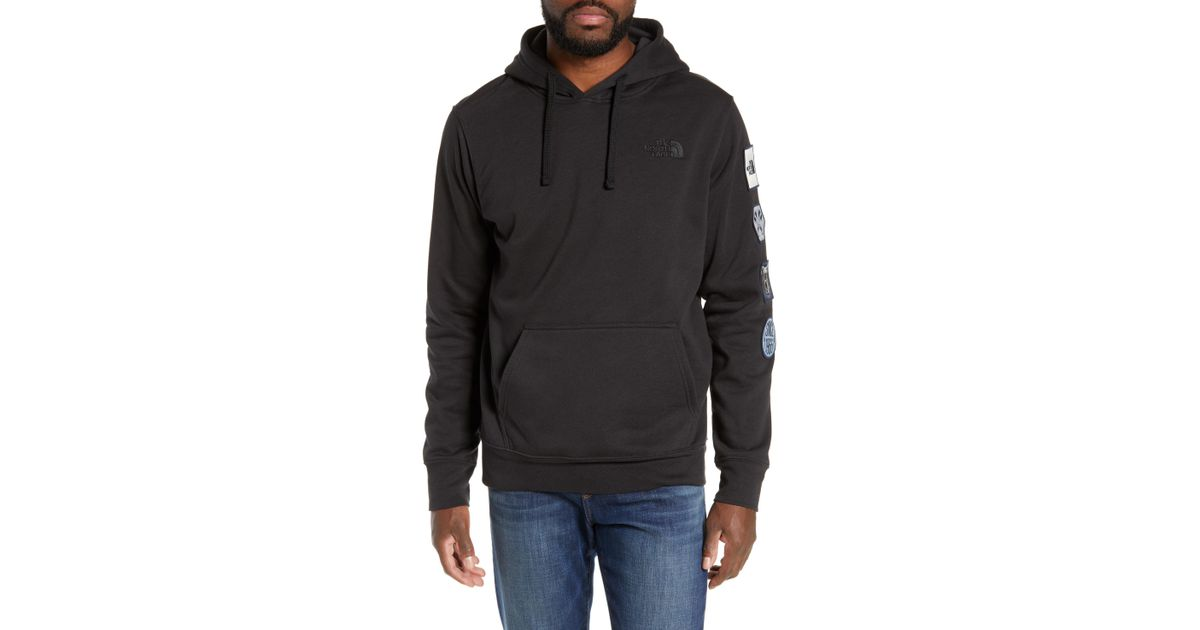 8d2e1e346 The North Face Black Urban Patches Hoodie for men