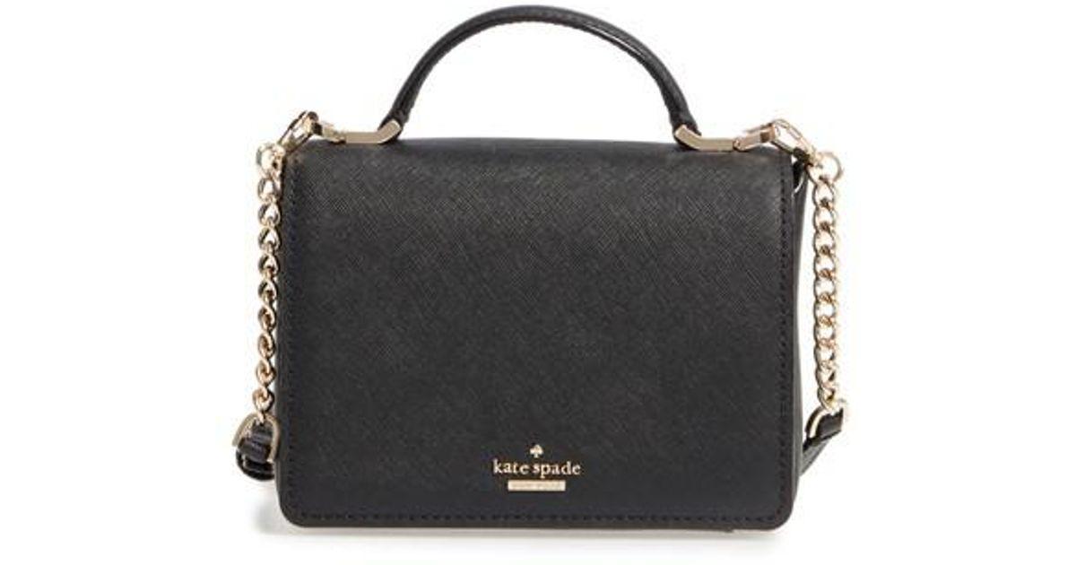 Lyst Kate Spade Cameron Street Hope Saffiano Leather Crossbody Bag In Black