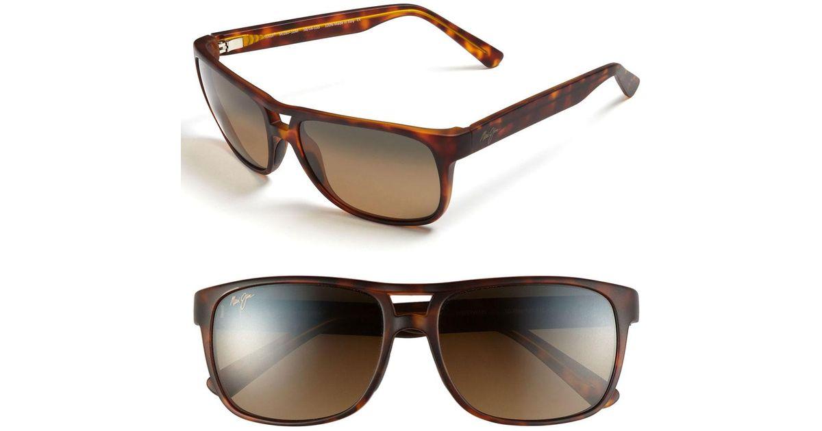 1cefa443520 Maui Jim 'waterways - Polarizedplus2' 58mm Sunglasses in Brown for Men -  Lyst