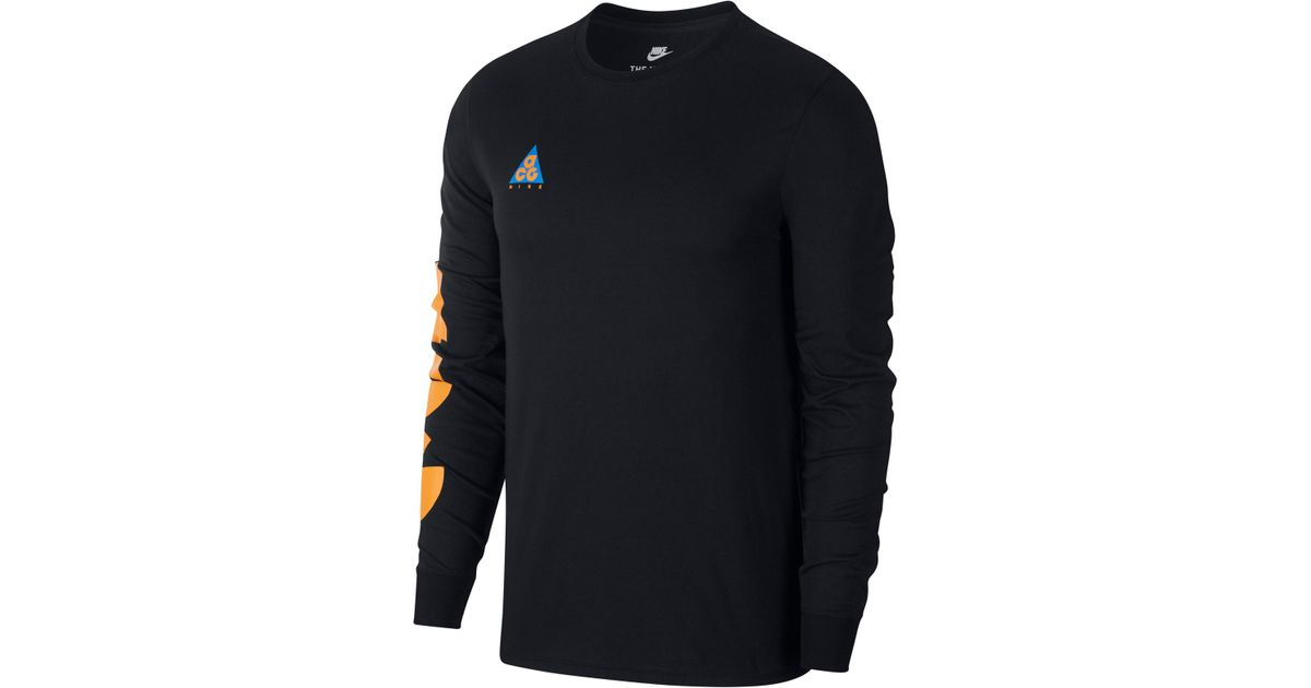 47733c8a0cf4 Lyst - Nike Nsw Acg Graphic T-shirt in Black for Men