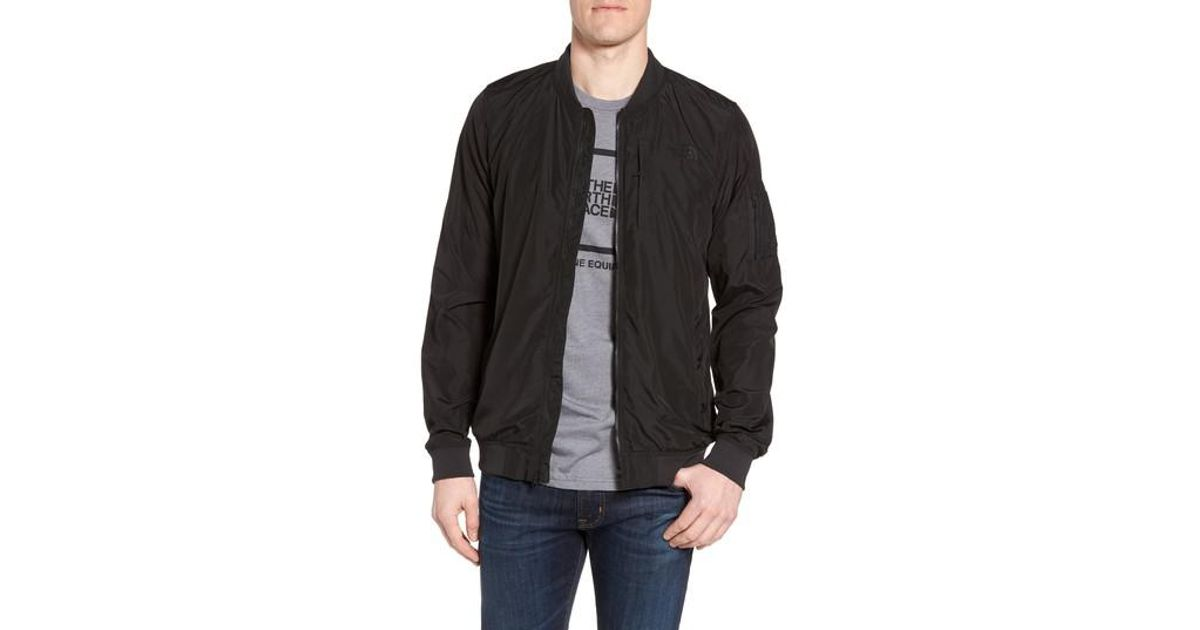 8f7411f8e The North Face Black Meaford Ii Bomber Jacket for men