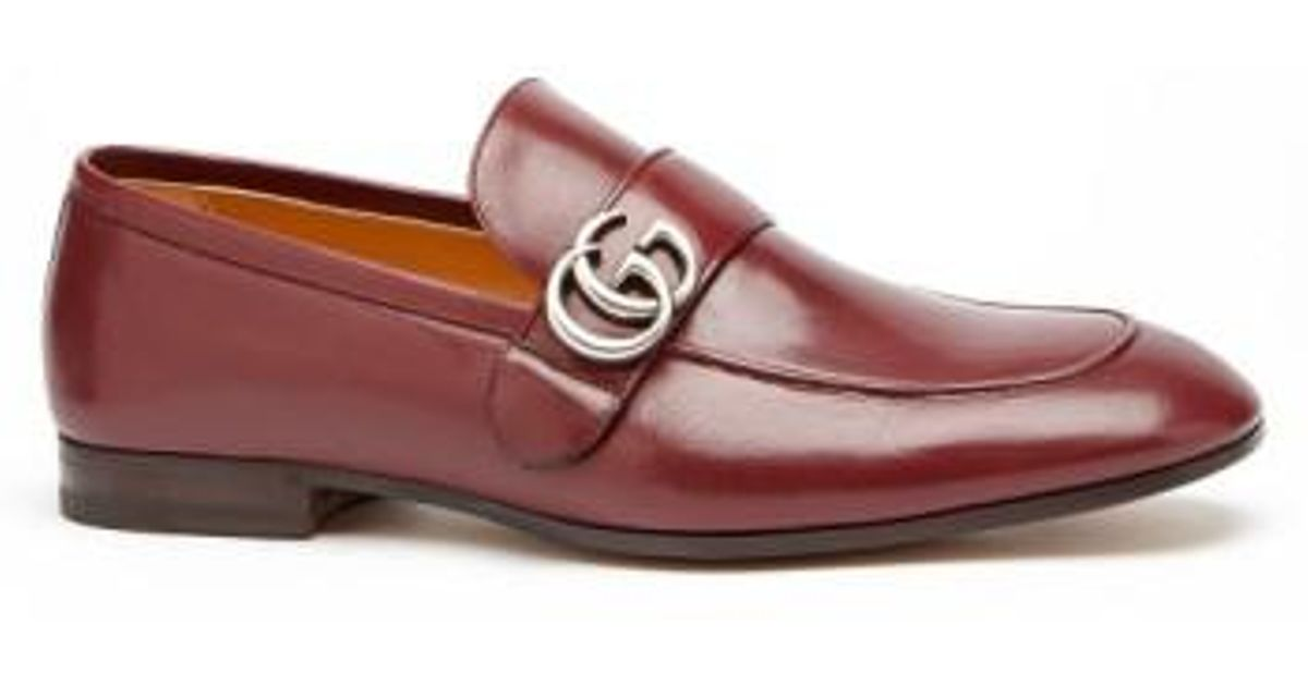 Gucci Donnie Bit Loafer in Red Leather