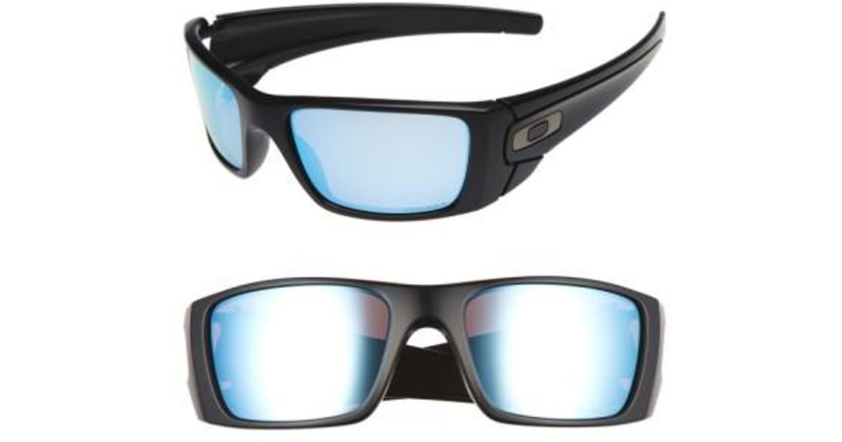 4ebbd7833b Lyst - Oakley  fuel Cell(tm) Prizm(tm)  60mm Polarized Sunglasses - in Blue  for Men