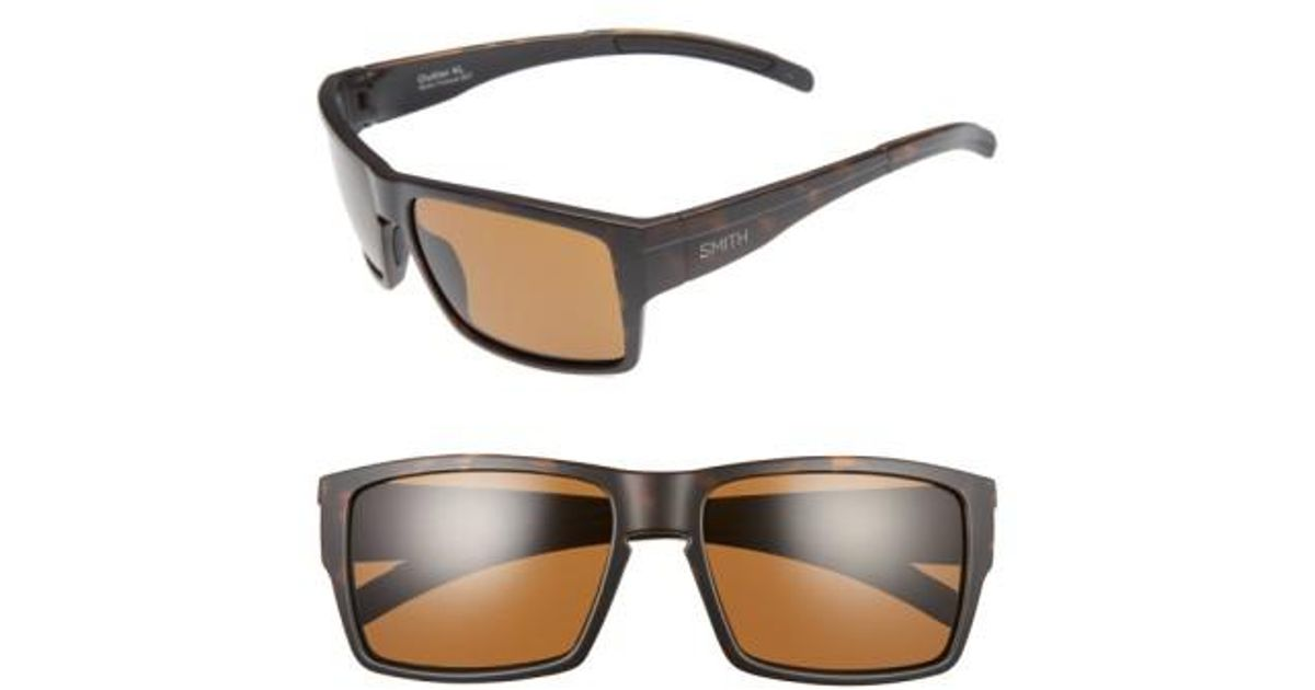9876153c8b5 Lyst - Smith Outlier Xl 58mm Polarized Sunglasses in Brown