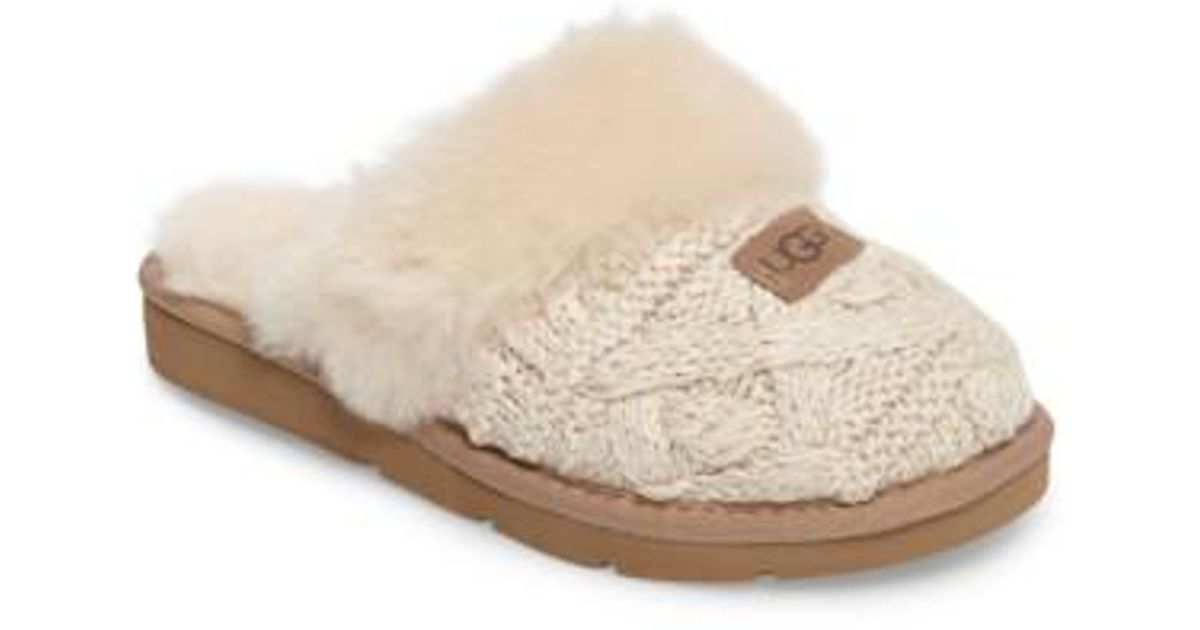 4f9c25d3fc7 Ugg Natural Ugg Cozy Cable Slipper