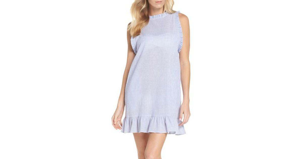bd585dfd173 Lyst - Muche Et Muchette Heidi Cover-up Dress in Blue