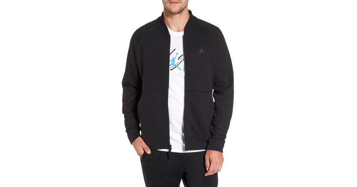 20b1f05c1b4 Lyst - Nike Sportswear Wings Fleece Bomber Jacket in Black for Men; NIKE  AIR JORDAN ...