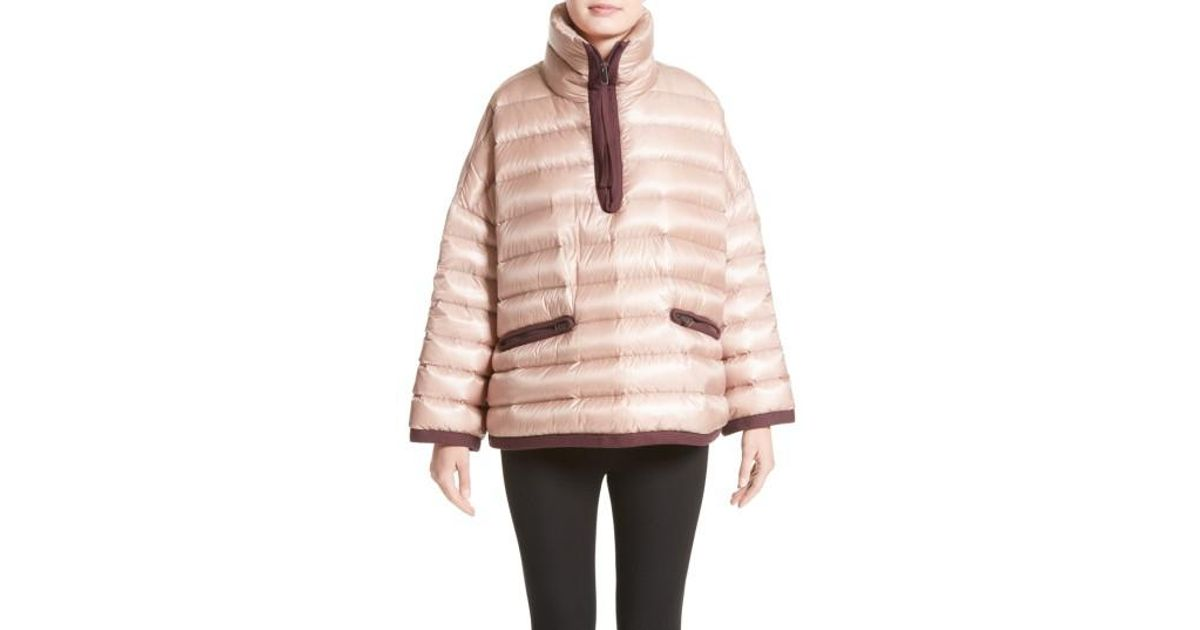 05c6b9959 Lyst - Moncler Mahonia Down Jacket in Pink