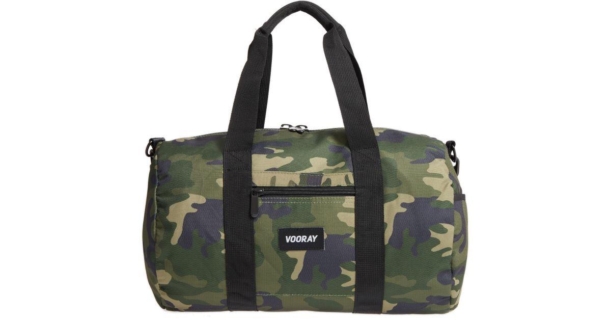 2f5e5eabe1fe Lyst - VOORAY Roadie Small Duffel Bag in Green