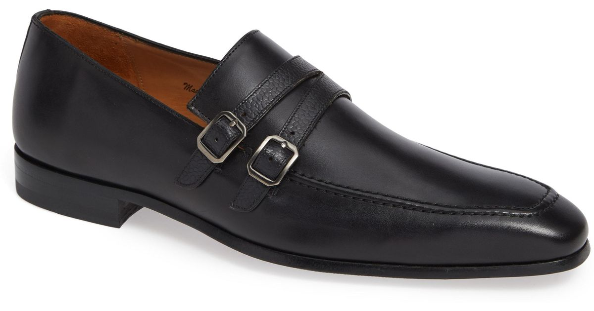 e7d646431b Lyst - Mezlan Callas Double Buckle Loafer in Black for Men - Save 20.0%