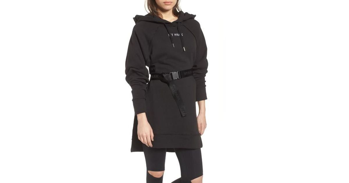 610e60f2089 Lyst - Ivy Park Harness Belt Hoodie in Black