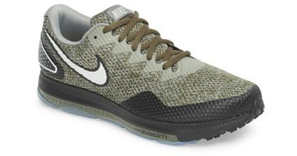 1c1d89a39739 Lyst - Nike Zoom All Out Low 2 Running Shoe in Green for Men