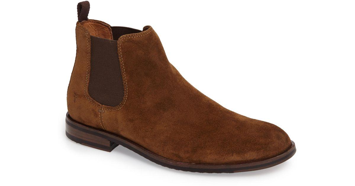 ea5b106955b44 Lyst - Frye Sam Chelsea Boot in Brown for Men