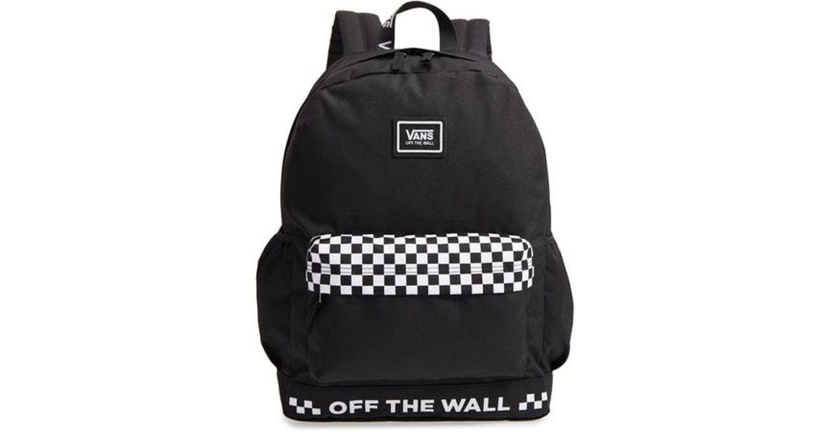 86061fd468 Lyst - Vans Sporty Realm Plus Backpack - in Black