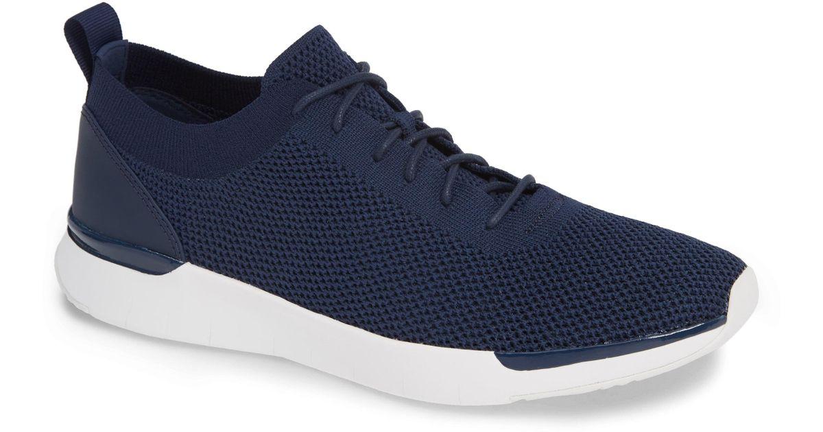 Fitflop Flexknit Sneaker in Black for