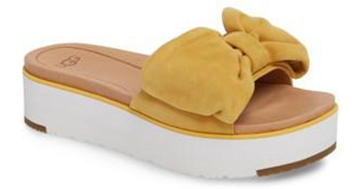 32233fc57a4 Ugg Multicolor Ugg Joan Platform Sandal