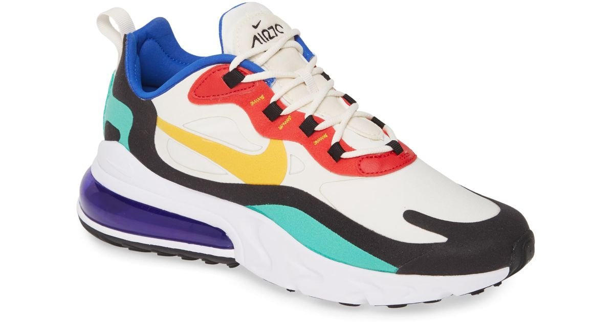 promo code 8a555 3552b Nike Multicolor Air Max 270 React Sneaker for men