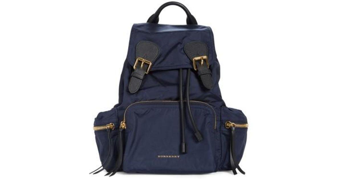 Burberry Backpack Blue