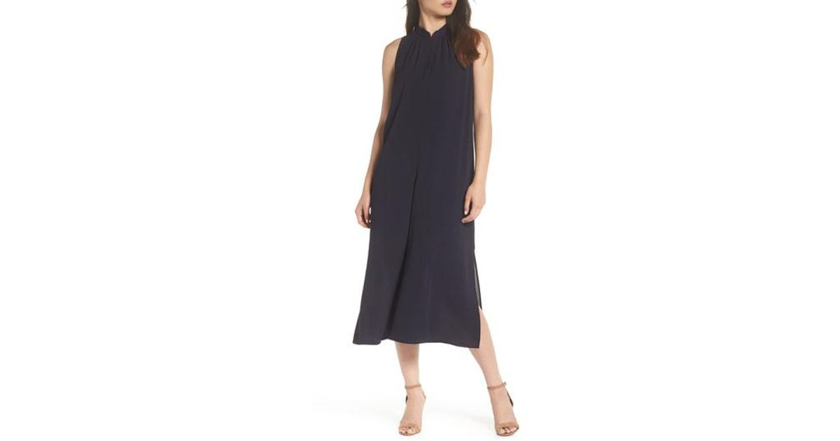ff31fc6b26e1 Lyst - French Connection French Mahi Crepe Jumpsuit in Black