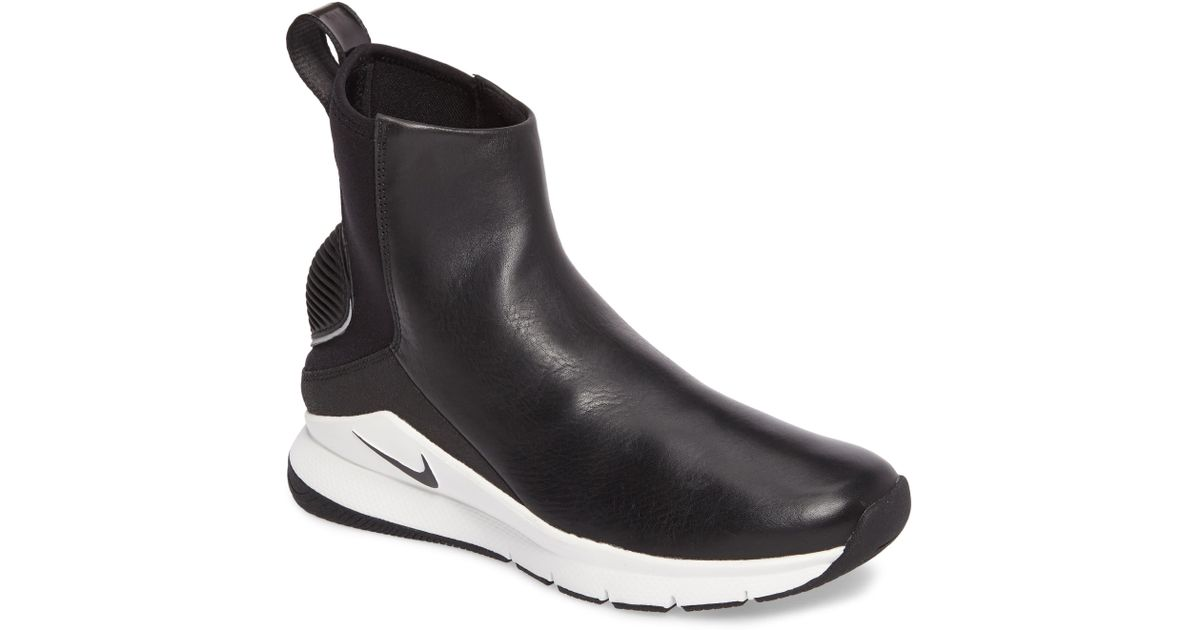 Nike Black Rivah High Premium Waterproof Sneaker Boot