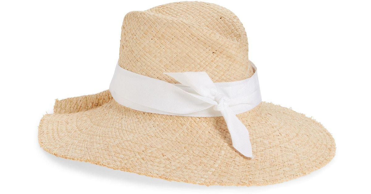 Lyst - Lola Hats First Aid Straw Hat in White 4d4c42498fd7