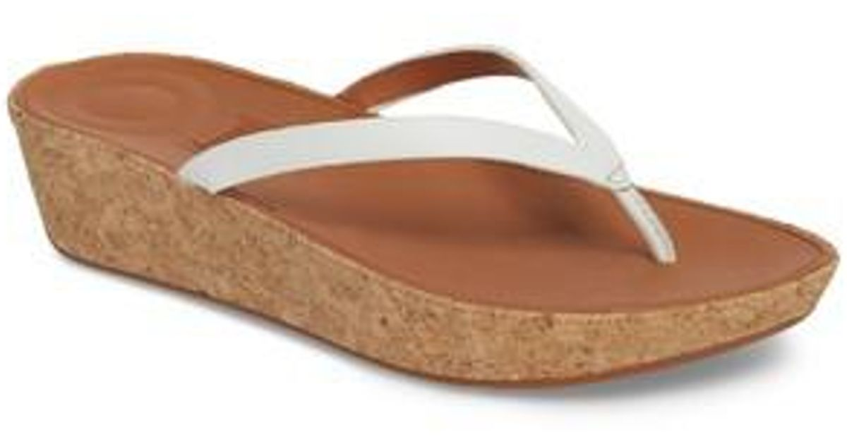 10a023d4237 Lyst - Fitflop Linney Wedge Flip Flop