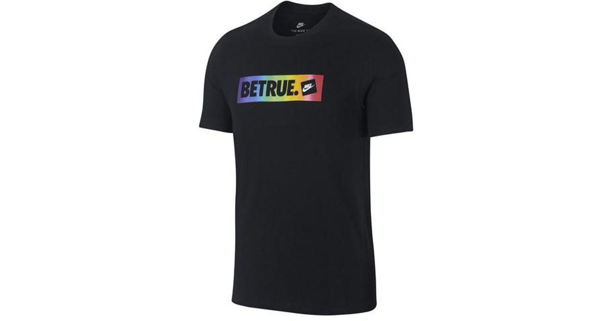 4c126812 Nike Sportswear Betrue Unisex T-shirt in Black for Men - Lyst