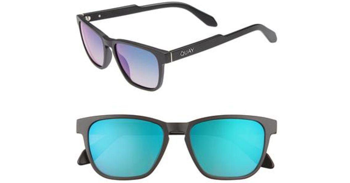 1e1e9a5d7b Lyst - Quay Hardwire 54mm Polarized Sunglasses in Blue for Men