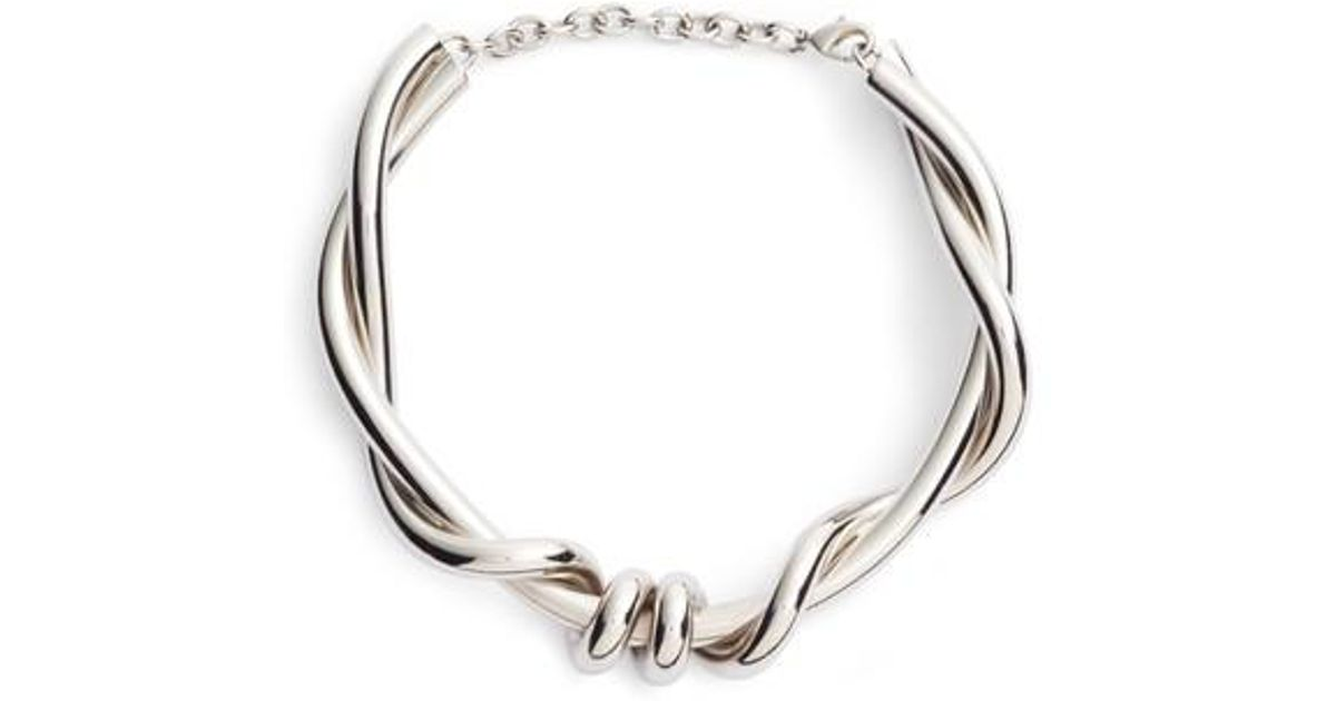 Modern Twist Necklace Oscar De La Renta nA9wwHa