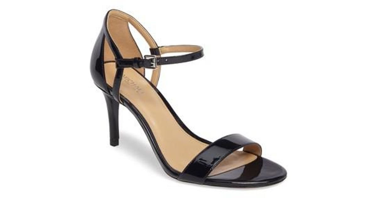 a92c58fc4eee Lyst - Michael Michael Kors  simone  Sandal in Black