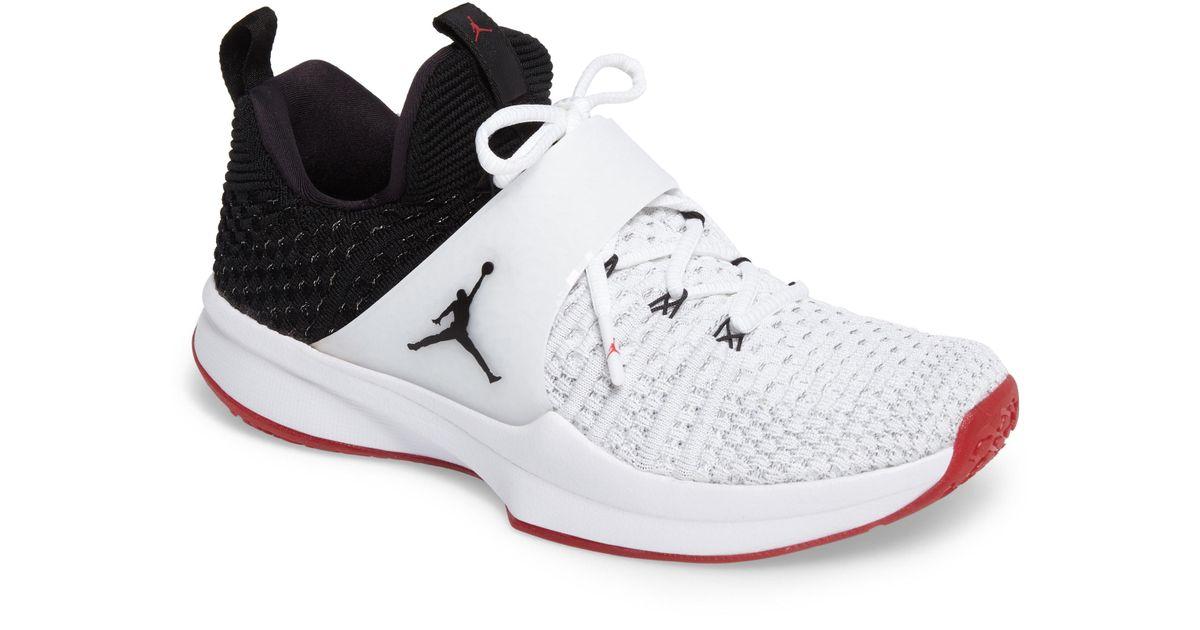 Lyst - Nike Jordan Flyknit Trainer 2 Low Sneaker for Men ee66c4b2d