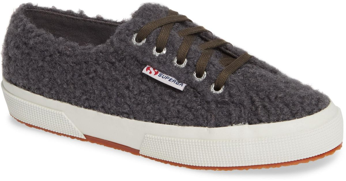 Superga 2759 Curly Wool Sneaker (women