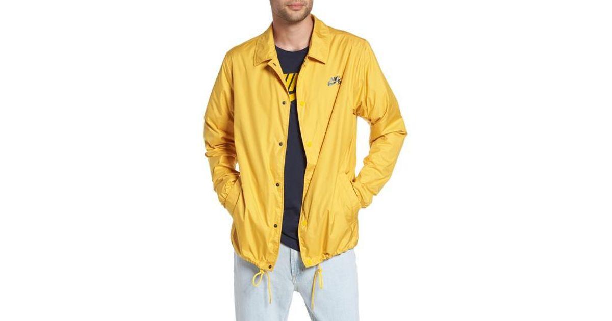 e2a01eeb6dd5 Lyst - Nike Sb Shield Coach s Jacket for Men