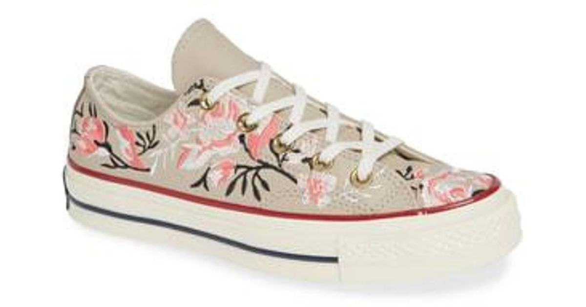 Lyst - Converse Chuck Taylor All Star Parkway Floral 70 Low Top Sneaker ee2e01121