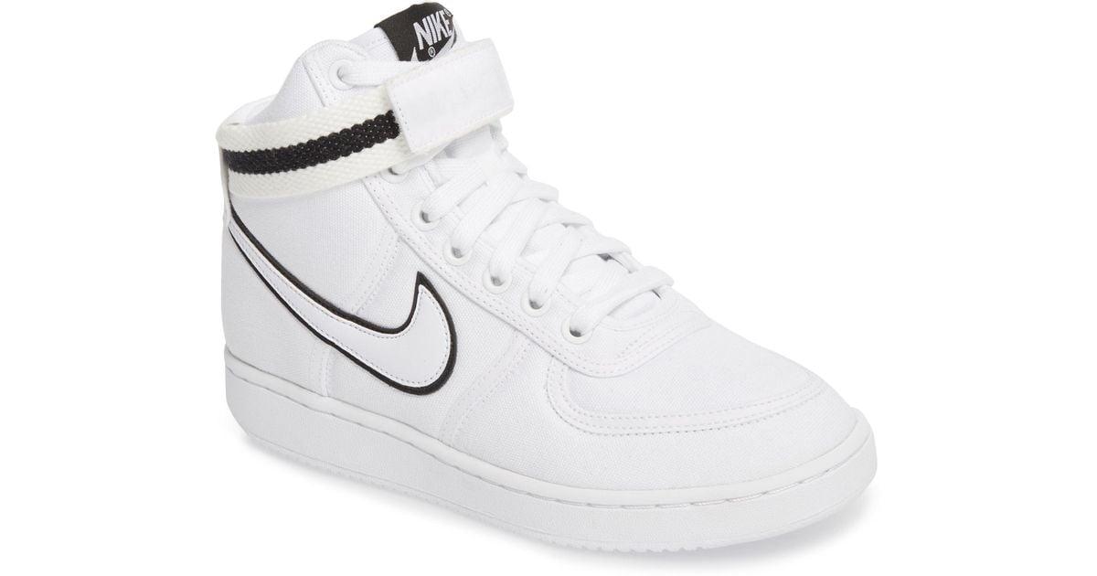 87a0956b4566 Lyst - Nike Vandal High Top Sneaker in White